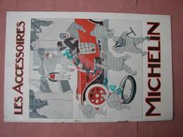 """Michelin Trés Beau Catalogue """" Les Accessoires Michelin 1913 """" - Voitures"""