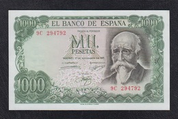 EDIFIL 474d.   1000 PTAS 17 DE SEPTIEMBRE DE 1971   SERIE 9 C. - 1000 Pesetas