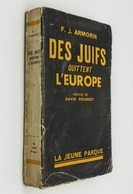 Des Juifs Quittent L'Europe / François-Jean Armorin. - Paris : La Jeune Parque, 1948 - Livres, BD, Revues