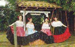 1 AK Costa Rica * Tänzerinnen Mit Der Nationaltracht Von Costa Rica * - Costa Rica