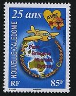Nouvelle Caledonie 985 Volontaire Aux Evacues, Neuf** Sans Charniere, Scott 999 Mint NH - New Caledonia