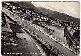BASSANO DEL GRAPPA - PANORAMA DEI DUE PONTI - VICENZA - Vedi Retro - Vicenza