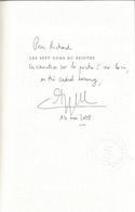 Dédicace De Philippe Le Guillou - Les Sept Noms Du Peintre - Livres, BD, Revues