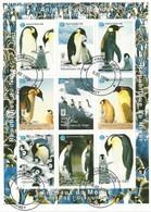 NIGER - Animaux Du Monde - PINGOUINS - Année De L'Océan - Oblitérés 1er Jour - Penguins