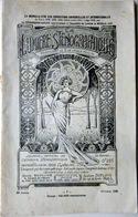 STENOGRAPHIE ECRITURE ENSEIGNEMENT PLAQUETTE EDITEE PAR DUPLOYE 1909 NOMBREUSES ANECDOTES - Livres, BD, Revues