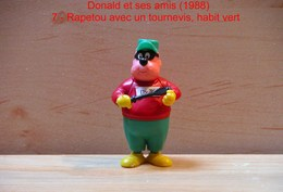 "Kinder 1988 : TRES RARE : Rapetou Avec Tournevis Habit Vert ""Donald & Ses Amis"" - Cartoons"