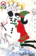 Telecarte BONHOMMES DE NEIGE (112) SNOWMEN -Snowman - Sneeuwman - BD