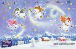Telecarte BONHOMMES DE NEIGE (117) SNOWMEN -Snowman - Sneeuwman - BD