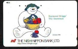 Telecarte BONHOMMES DE NEIGE (123) SNOWMEN -Snowman - Sneeuwman - BD