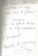 Dédicace De Serguei Dounovetz - Un Ange Sans Elle - Livres, BD, Revues