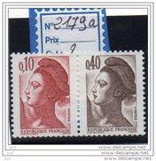 LIBERTE DE GANDON -N° 2179a - 1982-90 Libertà Di Gandon