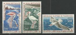 "Mauritanie Aerien YT 18 à 20 (PA) "" Oiseaux "" 1961 Neuf** - Mauritanie (1960-...)"