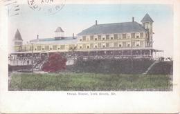 Alte  AK   YORK  BEACH / Maine / USA   - Ocean House -  Gelaufen 1908 - United States