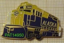 LOCOMOTIVE 2809 ALASKA RAILROAD TRAIN - Transports