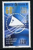 Nouvelle Caledonie 994 Secretariat General, Neuf** Sans Charniere, Scott 1009 Mint NH - New Caledonia