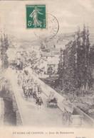 12. SAINT ROME DE CERNON. CPA. RARETÉ. JOUR DE MANŒUVRES . ANNEE 1905 - Other Municipalities