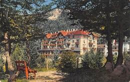 Cartolina Passo Della Mendola I Grandi Alberghi Della Mendola 1938 - Trento
