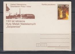 Poland 1984 Metallurgy - Stamped Stationery