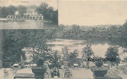 AK Bad Nauheim, Blick Auf Den Grossen Teich - Bad Nauheim