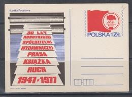 Poland 1977 - Stamped Stationery