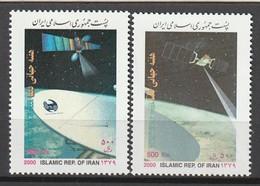 IRAN - N°2586 A/B ** (2000) ESPACE - Space