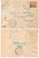 Entier Postal De Tunisie - Cachet De Tubis Roustan - Chargements II ...    (110479) - Timbres