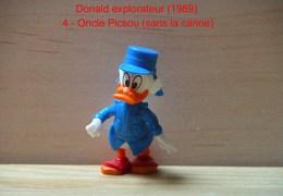 "Kinder 1989 : Picsou Explorateur Habits Bleu ""Donald Explorateur"" - Dessins Animés"