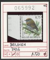 Buzin - Belgien - Belgique -  Belgium - Belgie - Michel 3436 - COB 3391  - ** Mnh Neuf Postfris - 1985-.. Vogels (Buzin)