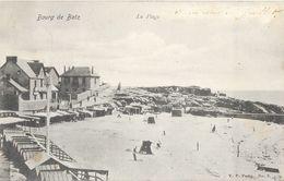 Le Bourg-de-Batz (Loire Inférieure) La Plage - Edition V.P. Paris - Carte N° 2 - Batz-sur-Mer (Bourg De B.)