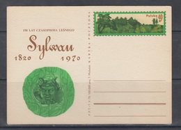 Poland 1970 Forest Magazine Sylwan - Stamped Stationery