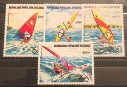 Congo - Brazzaville ,1983, Mi: 917/20 (MNH). - Summer 1984: Los Angeles