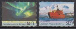 AAT 1991 Antarctic Treaty 2v ** Mnh (41440) - Australisch Antarctisch Territorium (AAT)