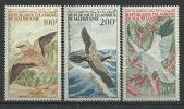 "Mauritanie Aerien YT 34 à 36 (PA) "" Oiseaux "" 1964 Neuf** - Mauritanie (1960-...)"