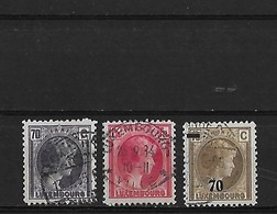 Luxembourg Yv. 249 250 Et 258 O. - Luxembourg