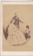 Napoléon III ,l'impératrice Eugénie Et Le Prince Héritier - Photographs