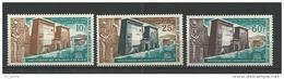"Mauritanie Aerien YT 37 à 39 (PA) "" Sauvegarde Monuments "" 1964 Neuf** - Mauritanie (1960-...)"