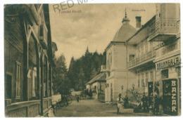 RO 992 - 10384 TUSNAD, Harghita, Romania, Bazar - Old Postcard - Used - 1911 - Rumänien