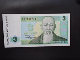 KAZAKHSTAN : 3 TENGE   1993   P 8a    NEUF - Kazakhstan