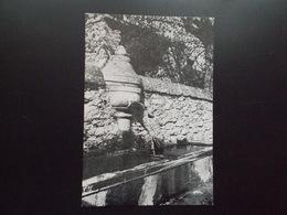 2 Cartes LEMPS La Fontaine Au Serpent, L'Eglise Années 50 - France