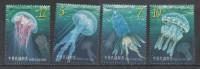 TAIWAN, 2014, MNH, JELLYFISH,4v - Marine Life