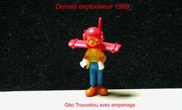 """Kinder 1989 : Géo Trouvetou Avec Empenage """"Donald Explorateur"""" - Dessins Animés"""