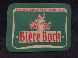 Ancienne Étiquette BIÈRE BOCK BRASSERIE COOPÉRATIVE LEFOREST PAS DE CALAIS - Bière