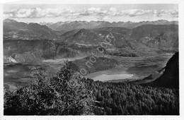 Cartolina Passo Della Mendola Vista Su Lago Caldaro 1955 - Trento