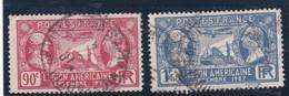 FRANCE 1927  N° 244/245  Oblitéré  /  MARQUIS DE LAFAYETTE ET WASHINGTON  - REF 24-24 - France