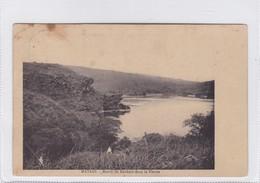 CONGO BELGE. MAFADI. MASSIF DE ROCHERS DANS LE FLEUVE. CIRCULEE 1914 MAIADI A BRUSELLES, BELGIQUE- BLEUP - Belgisch-Congo - Varia
