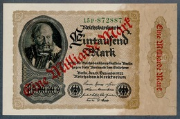 P113 Ro110b 1 Milliard Mark 15.12.1922 UNC NEUF - 1918-1933: Weimarer Republik