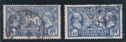 FRANCE 1927  N° 245  Oblitéré  /  MARQUIS DE LAFAYETTE ET WASHINGTON  - REF 24-24 - France