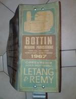 Bottin Départements: Annuaire Téléphonique: Région Parisienne - 1967 - Directorios Telefónicos