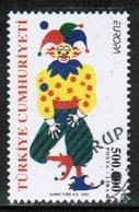 CEPT 2002 TR MI 3301 TURKEY USED - 2002