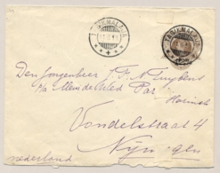 Nederlands Indië - 1913 - Envelop G29 Van KB TASIKMALAJA Naar Nijmegen - Indes Néerlandaises